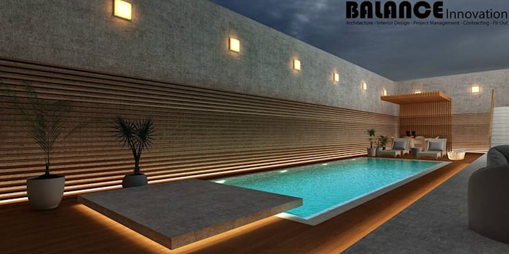 Swimming Pool:   تنفيذ Balance Innovation