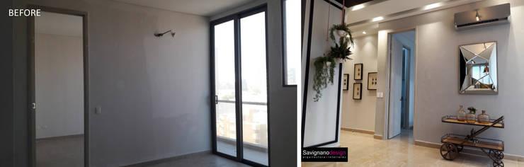 Reforma apartamento de soltero (Before & after):  de estilo  por ecoexteriores