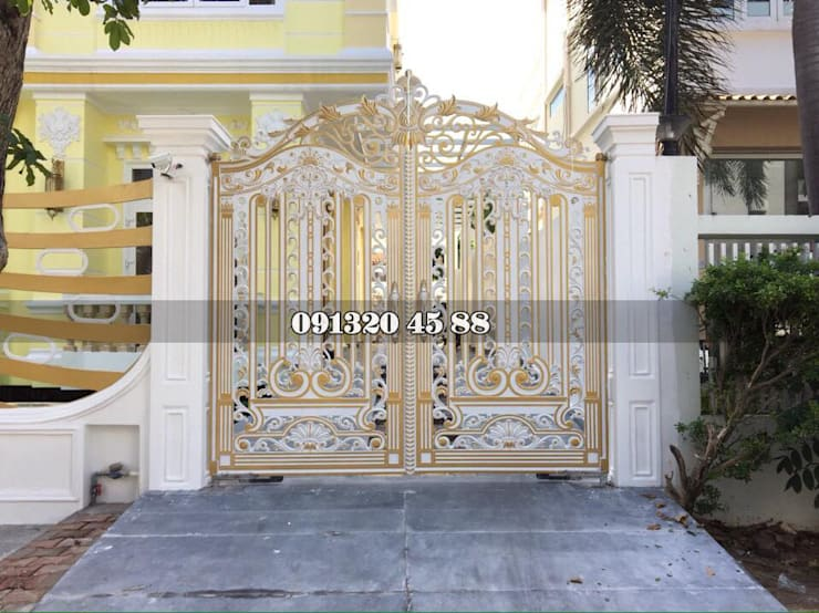 Công trình tại cổng bắt mắt tại Hà Nội:   by CỔNG BIỆT THỰ CAO CẤP
