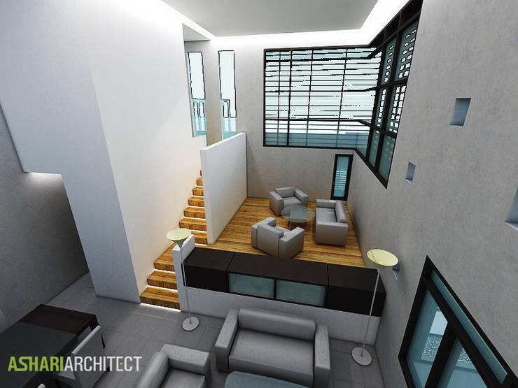Palembang House:  Ruang Keluarga by Ashari Architect