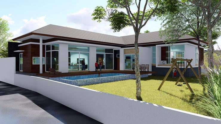 บ้านเล่นระดับ คุณนุ๊ก อำเภอแม่สอด:   by Tcm Design