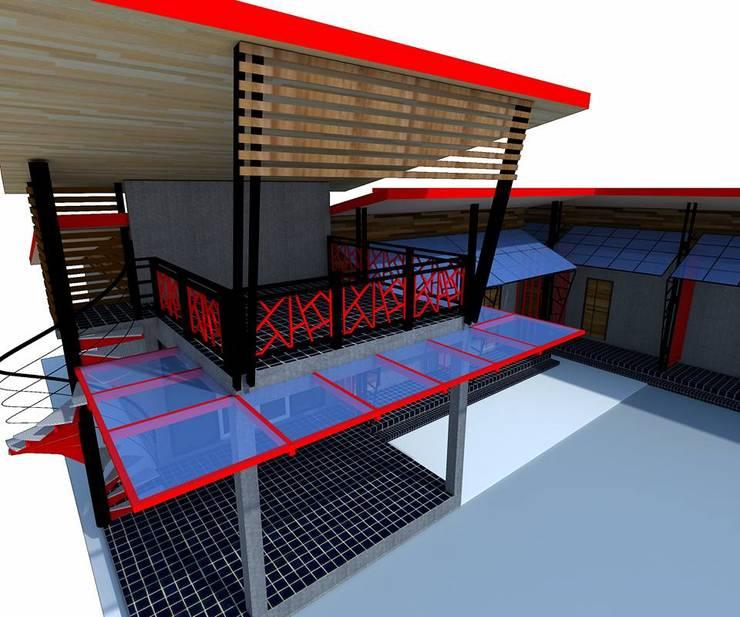 งานออกแบบห้องพัก ขนาด 12 ห้อง ในตัวเมืองลำพูน:   by ชาคริต คอนสตรั่กชั่น