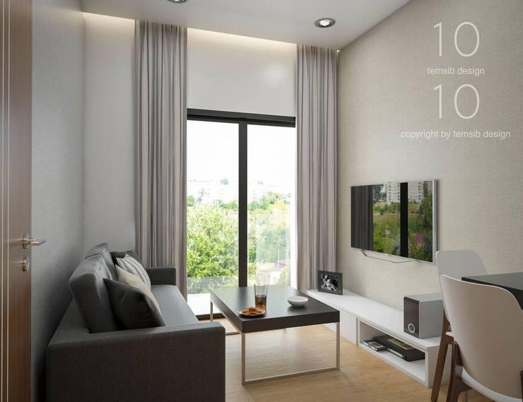 Interior Design The Green City Condominium:   by temsibdesign
