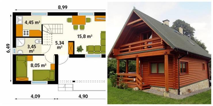 Casas de estilo escandinavo por homify