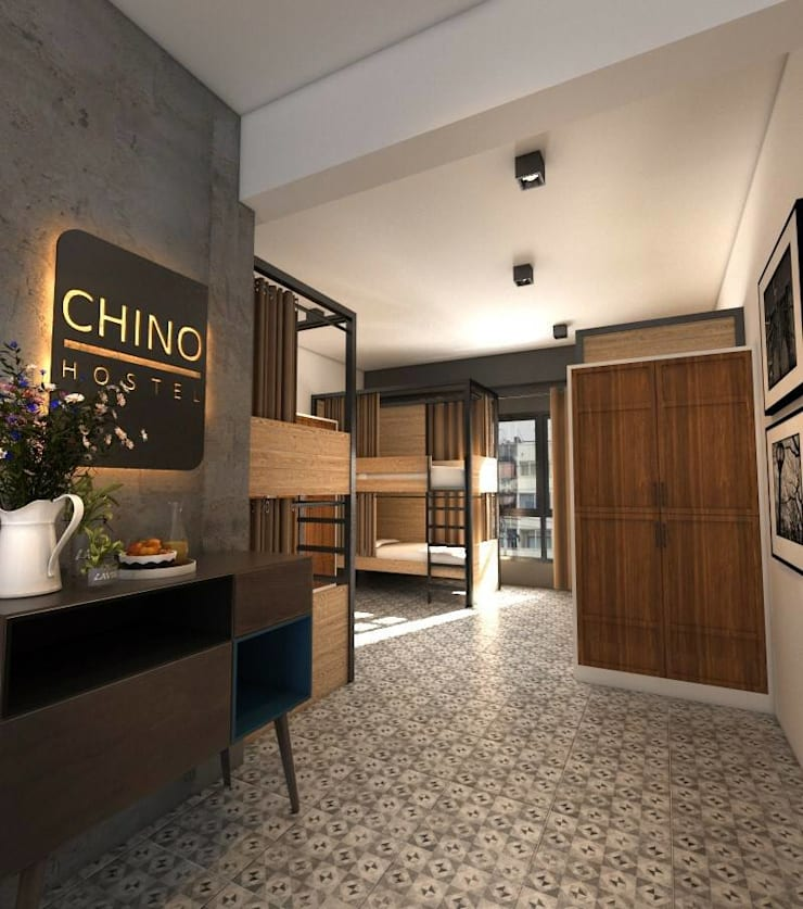 Renovat Chino Hostel :   by togetherdesign