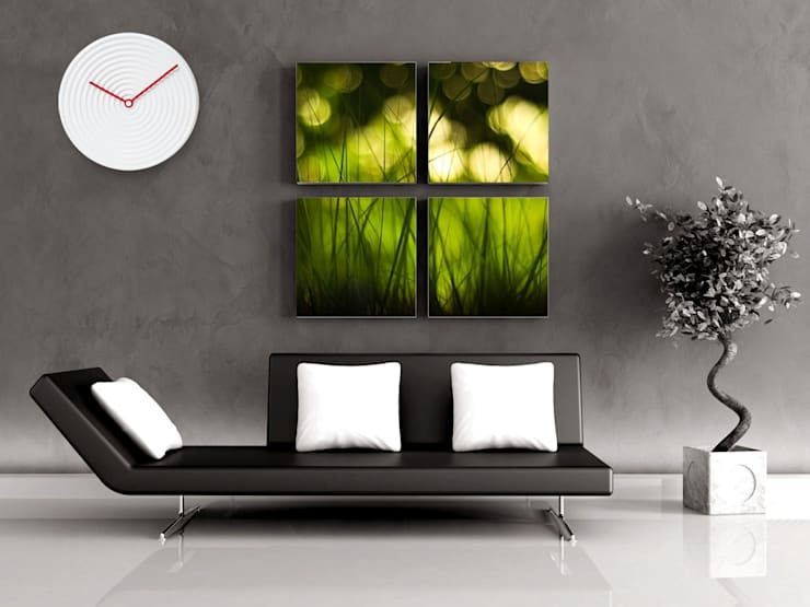 Karlsson Saturn Wall Clock:  Living room by Just For Clocks