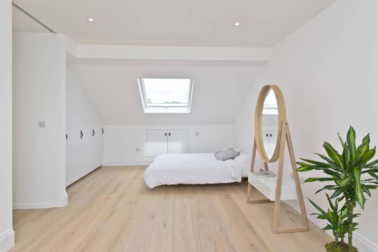 غرفة نوم تنفيذ Prime Architecture