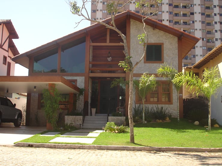 房子 by Ronaldo Linhares Arquitetura e Arte