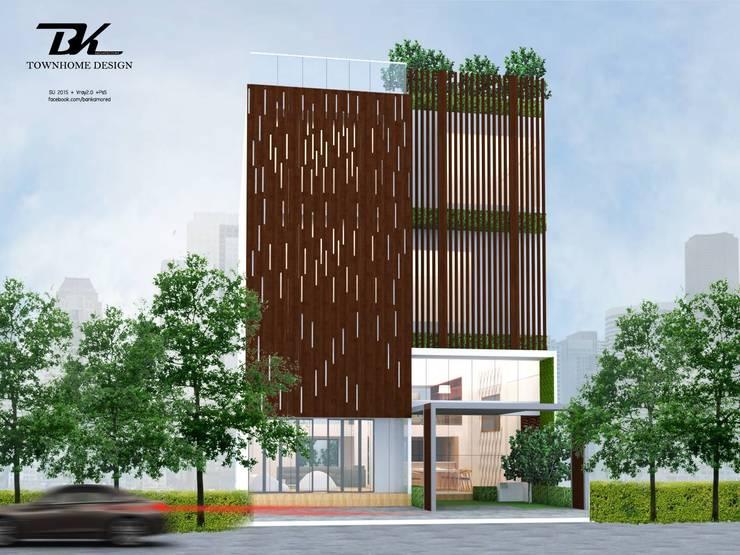 บ้านทาวน์โฮม:  บ้านและที่อยู่อาศัย by BK Archstudio