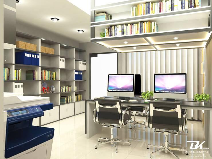 ออฟฟิต:  ห้องทำงานและสำนักงาน by BK Archstudio