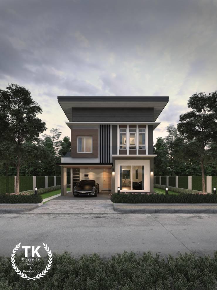 2 Story House:   by TK STUDIO
