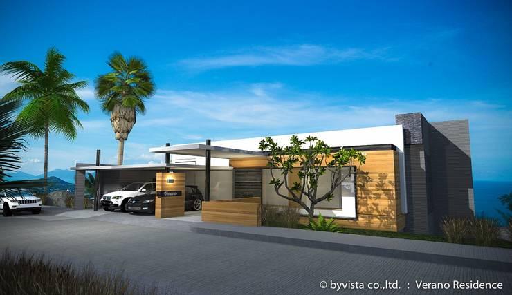 verano residence:   by byvista architect co.,ltd