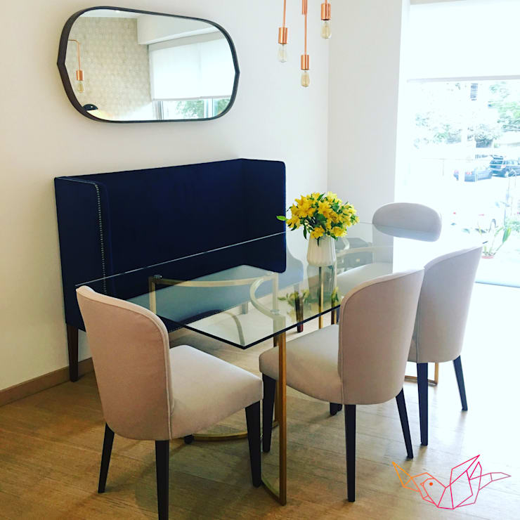 ESPACIO MIXTO: Comedor de estilo  por LOVE IS ALL