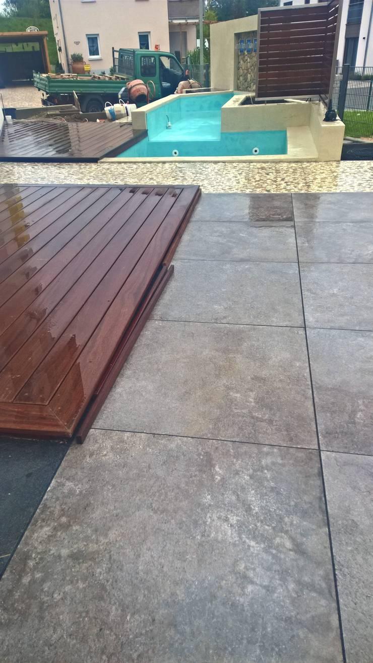 kleiner pool f r terrasse fkh. Black Bedroom Furniture Sets. Home Design Ideas