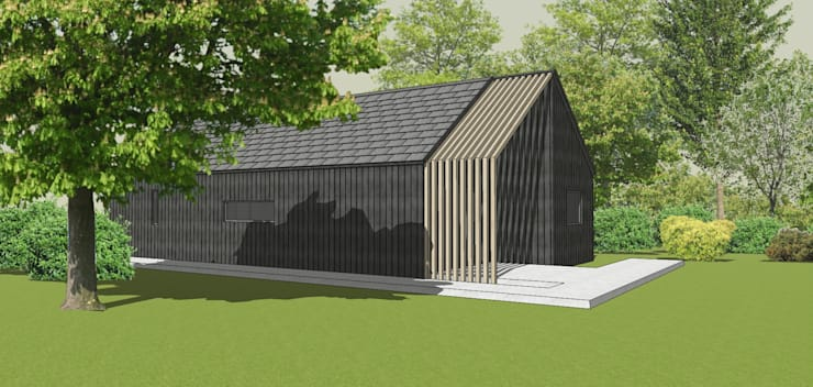 New home :  Country house by Abodde Housing,