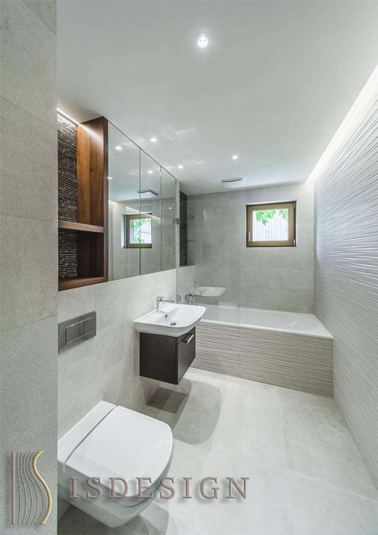Ванная комната: Ванные комнаты в . Автор – ISDesign group s.r.o., Эклектичный Керамика