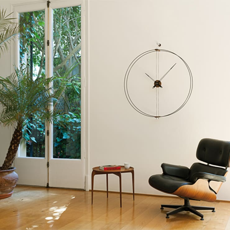 Nomon Barcelona Clock: modern  by Just For Clocks,Modern Metal