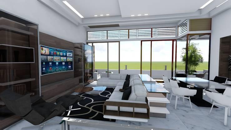Elektronica door Arquitectura Creativa