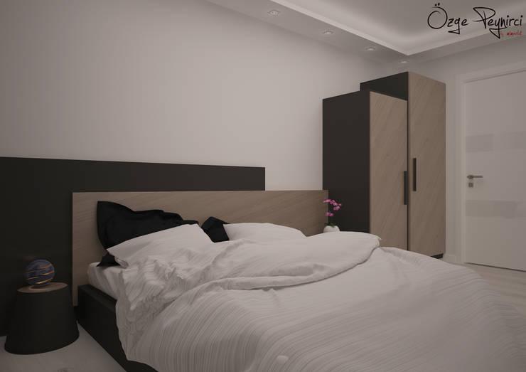 Deniz Gökçe Mimarlık ve İnşaat – Yatak Odası I Bedroom: modern tarz Yatak Odası