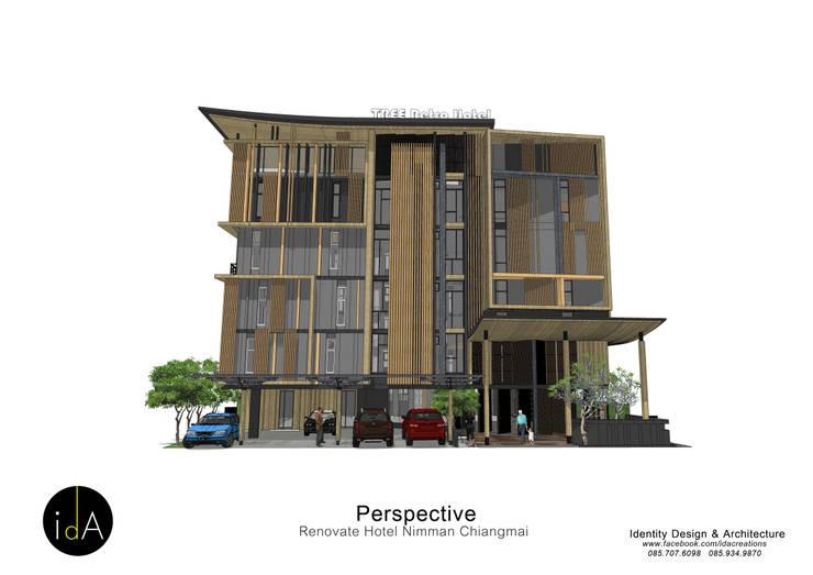 Renovate  Hotel  Nimmarn  Chiangmai:  โรงแรม by Identity Design & Architecture Part.,Ltd