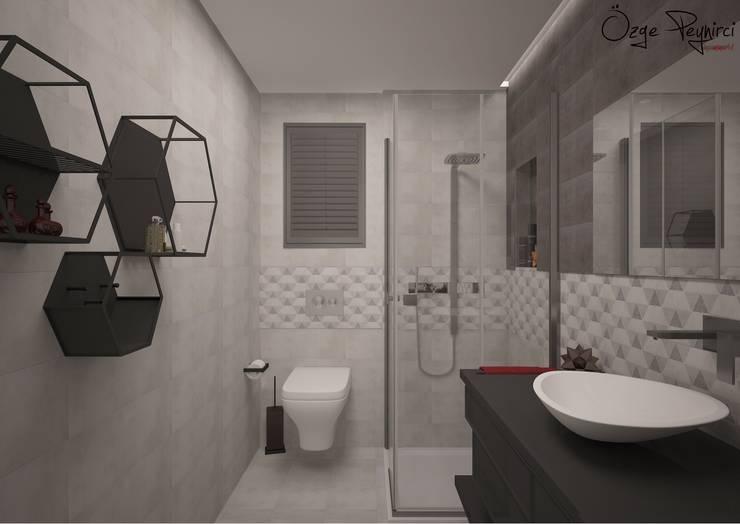 Bathroom by Deniz Gökçe Mimarlık ve İnşaat