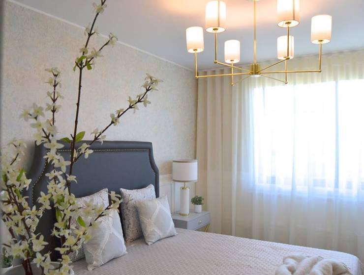 غرفة نوم تنفيذ Marta Gonzaga, Interior Design