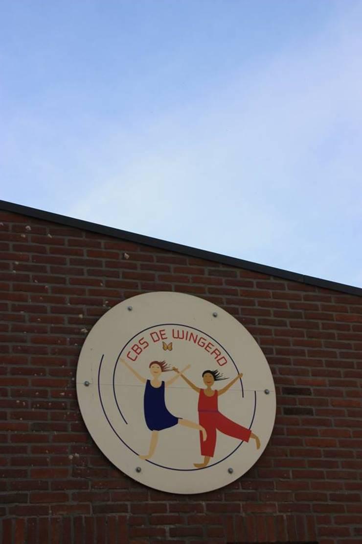 c.b.s. De Wingerd:  Scholen door janny doornbos architektonische vormgeving, Modern