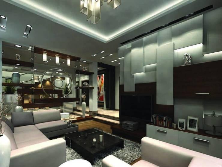 Modern Apartment New Cairo: حديث  تنفيذ Axis Architects, حداثي