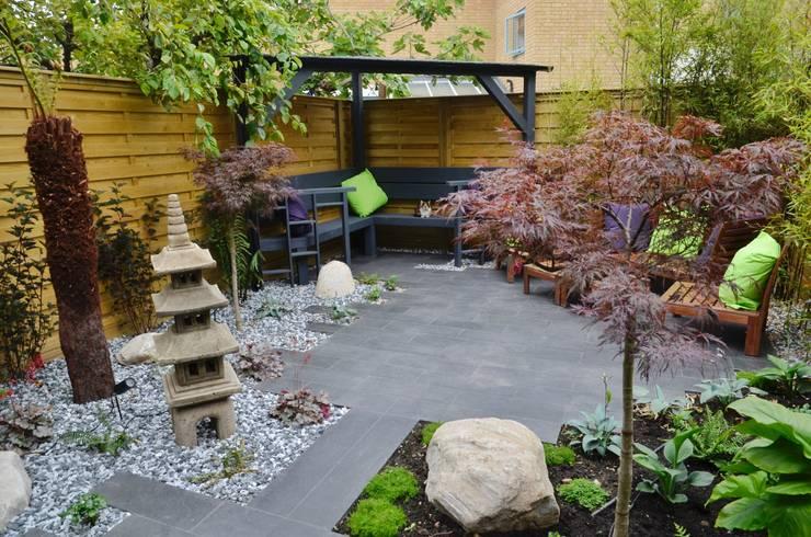 Temple Garden:  Garden by Borrowed Space