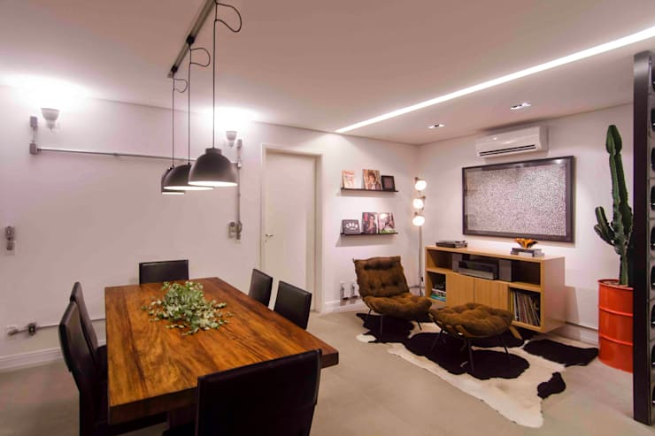 Comedores de estilo  por FÜLEP design + arquitetura, Moderno