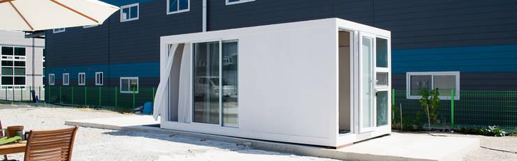 현장조립이 가능한 모듈러건축 브랜드,마룸: 마룸의  조립식 주택,