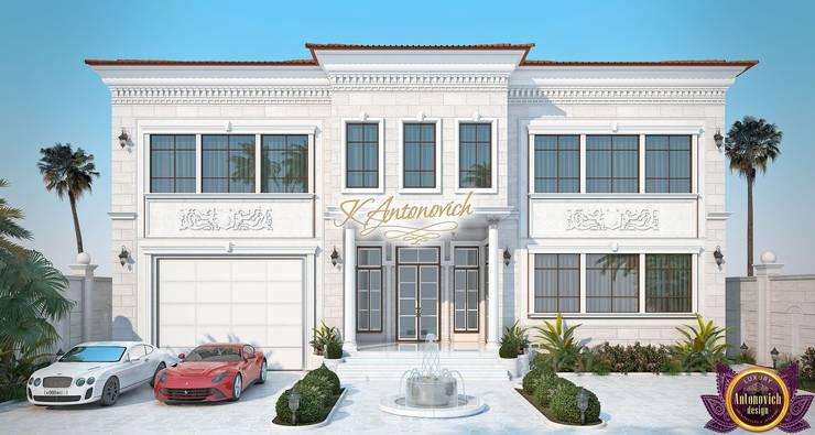   Facades Design by Katrina Antonovich:  Houses by Luxury Antonovich Design, Classic