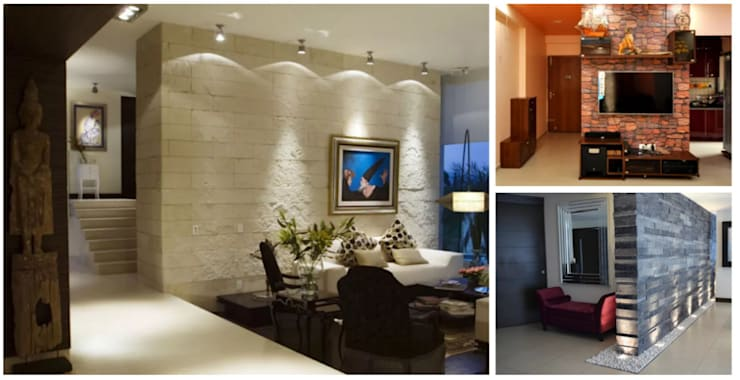 Walls & flooring by Gargee Kashyap homify