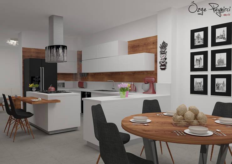 Deniz Gökçe Mimarlık ve İnşaat – Mutfak | Kitchen : modern tarz Mutfak