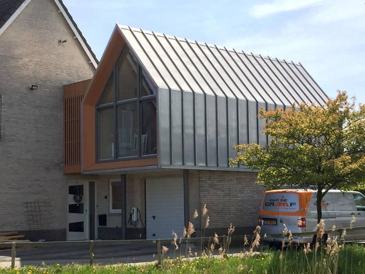exterieur My Little Home:  Slaapkamer door Boon architecten
