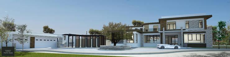 ปรับปรุงบ้านพักอาศัยบนพื้นที่เดิม:   by PRECIO HOUSE