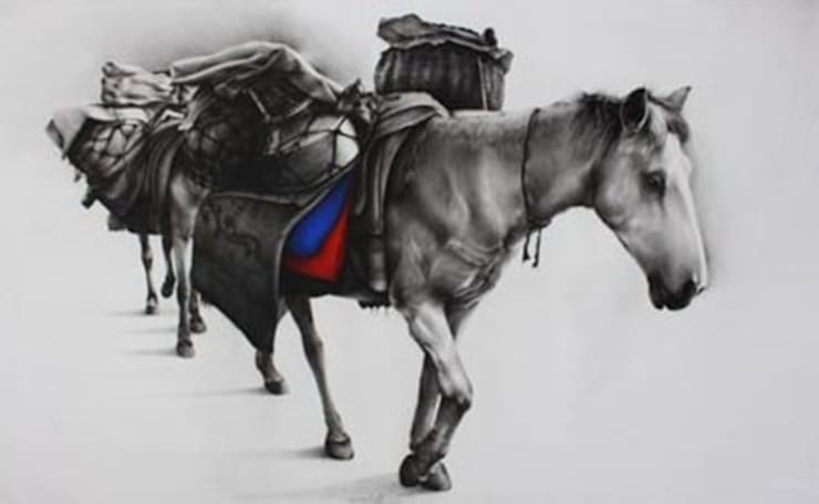 Horse:  Artwork by Indian Art Ideas