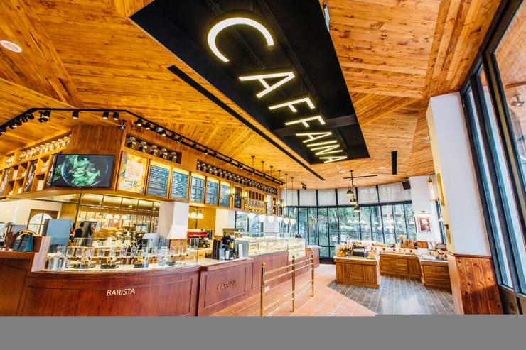 CAFFAINA 惠來店:  餐廳 by X2 CREATE乘雙設計制造所