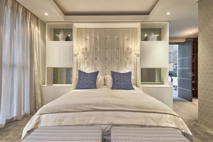 Rose St:  Bedroom by House Couture Interior Design Studio