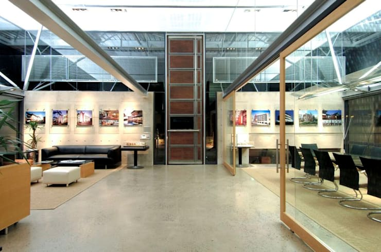 EPA Studio:  Office buildings by Elphick Proome Architects, Modern