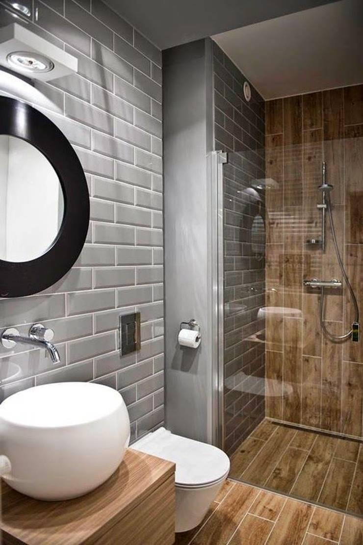 Inspiración para baño: Baños de estilo  por Vero Capotosto ,