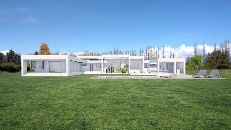 DMARQ - CASA COLLINS PEÑALOZA - IMG-03: Casas unifamiliares de estilo  por Dušan Marinković - Arquitectura