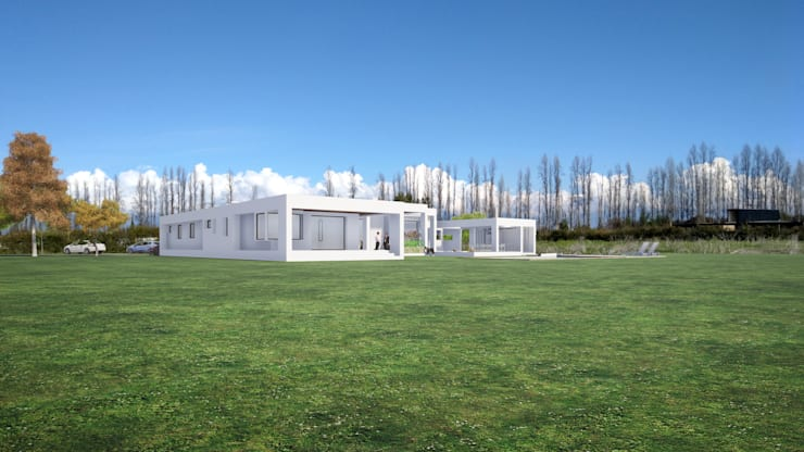 DMARQ - CASA COLLINS PEÑALOZA - IMG-04: Casas unifamiliares de estilo  por Dušan Marinković - Arquitectura