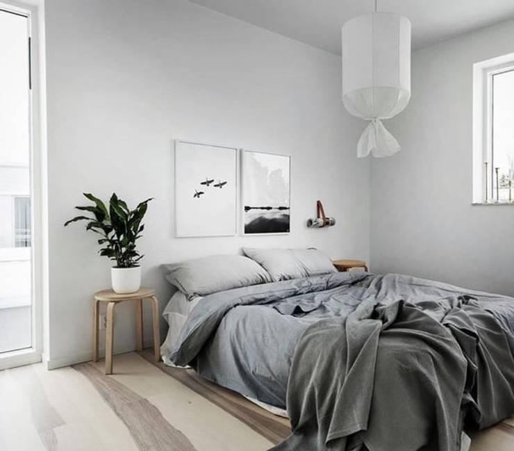 Inspiración para dormitorio:  de estilo  por Vero Capotosto ,Escandinavo
