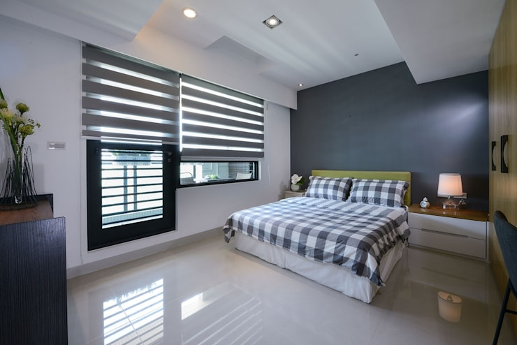 Bedroom by 見本設計, Modern