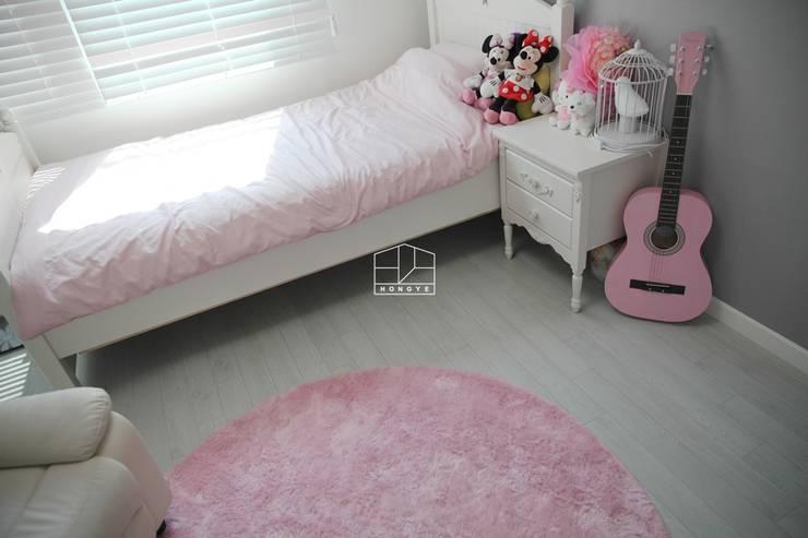 غرفة الاطفال تنفيذ 홍예디자인