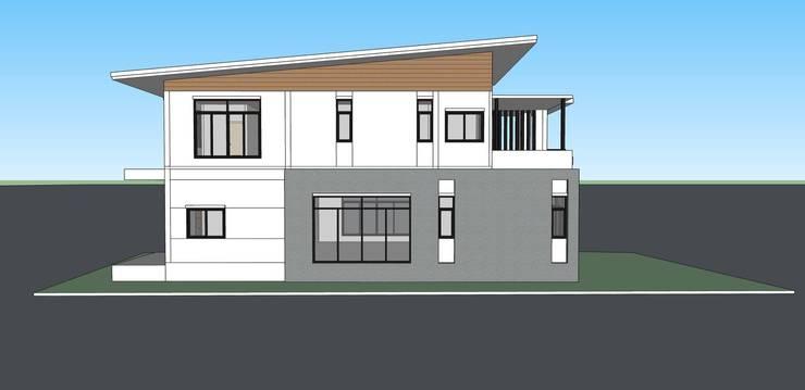 บ้านพักอาศัย 2 ชั้น:   by raintree design studio