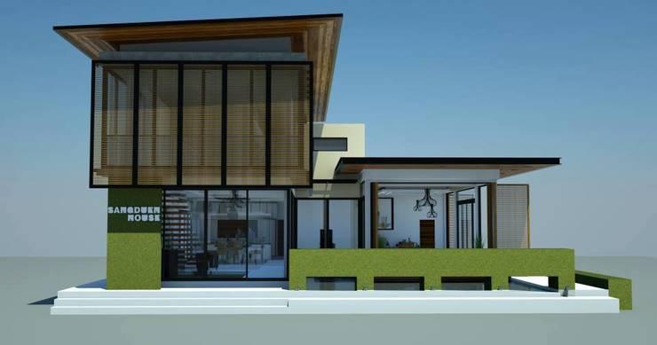 แบบร่างบ้าน 2 ชั้น(ไม่ได้สร้างจริง) จ.หนองคายครับ:   by raintree design studio
