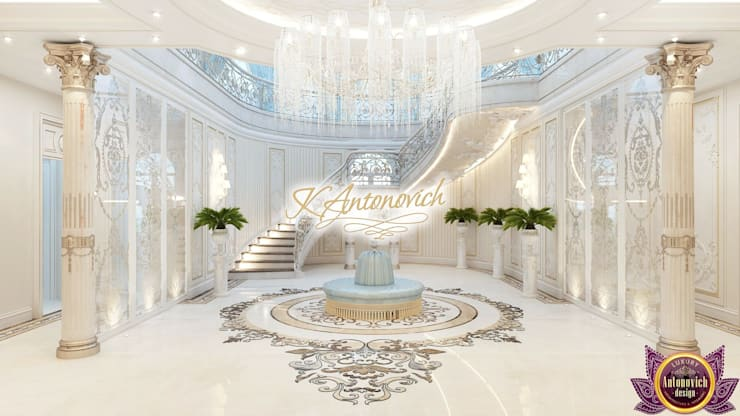​Luxury Interior from designer Katrina Antonovich:  Corridor & hallway by Luxury Antonovich Design
