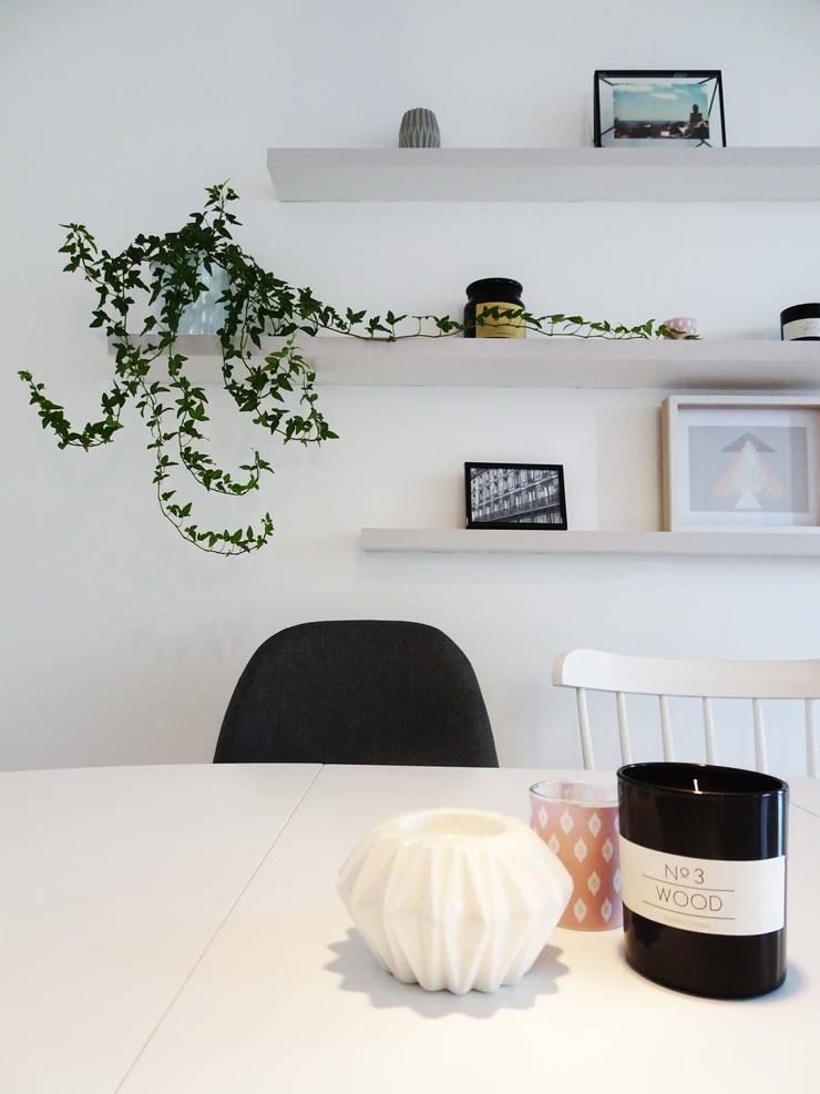 3 pièces – Fontenay-sous-Bois Salle à manger scandinave par Sandrine Carré Scandinave